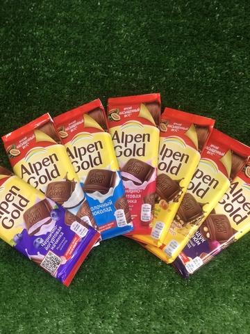 Шоколадка Alpen gold #1589