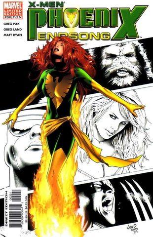 X-Men: Phoenix - Endsong #2 (of 5) (Variant Cover)