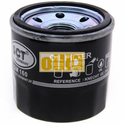 Фильтр масляный SCT SM160 (Daewoo / Chevrolet, Daihatsu, Subaru, Suzuki)