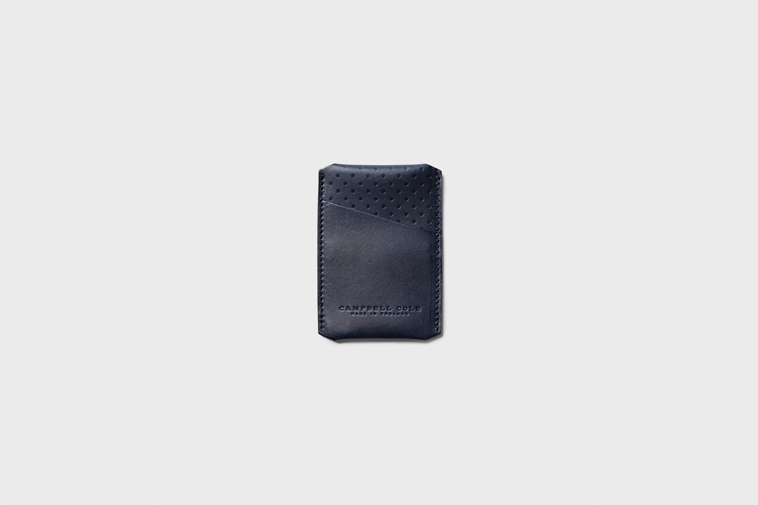 Campbell Cole Simple Card Holder Navy