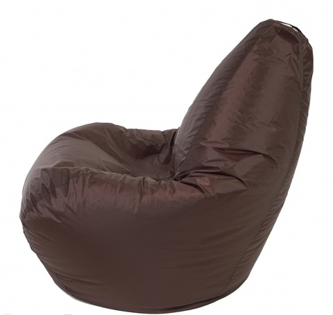 Кресло мешок Груша коричневый