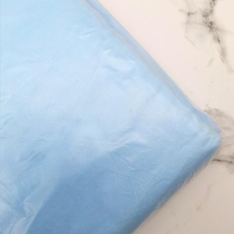 Простыни 70*200 голубые 20шт