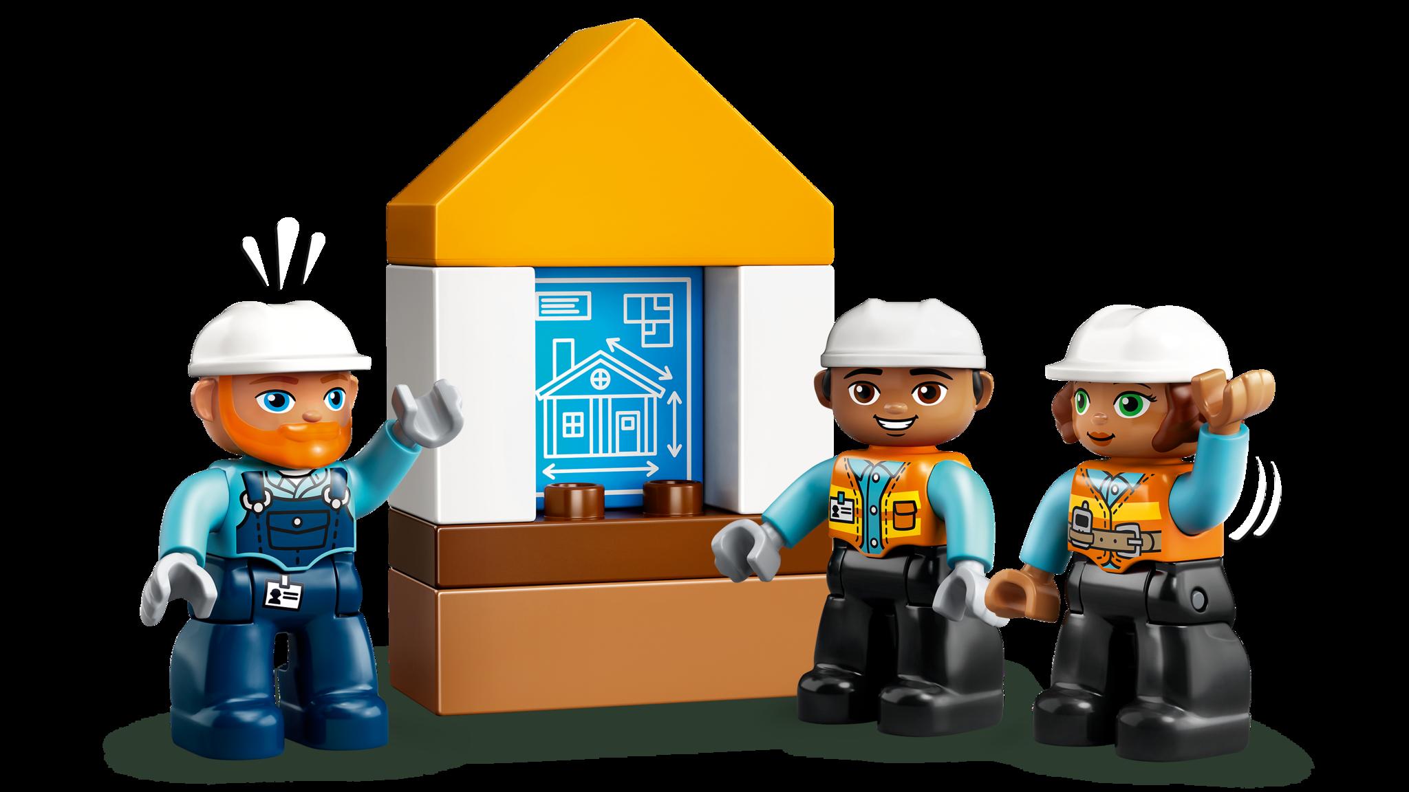 LEGO DUPLO 10932 Конструктор ЛЕГО ДУПЛО Шаровый таран