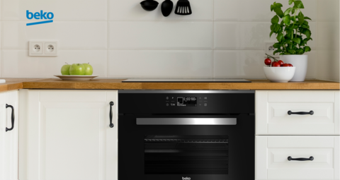 Конвекционный духовой шкаф c функцией микроволновой печи Beko BCW18501X