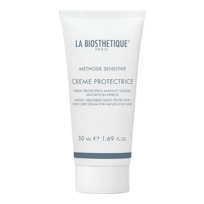 La Biosthetique Methode Sensitive: Быстро впитывающийся защитный крем для рук и ногтей (Creme Protectrice), 50мл/400мл