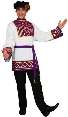 Русский народный костюм Ярослав фиолетовый