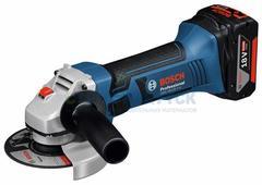 Аккумуляторные угловые шлифмашины Bosch GWS 18-125 V-LI (060193A30B)