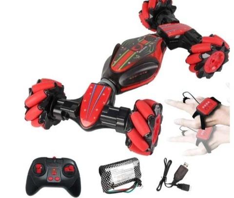 Дрифт машинка-перевёртыш Twister RC Stunt Car, с управлением жестами красный