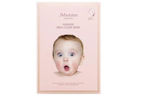 JMsolution Тканевая маска для выравнивания тона кожи Mama Pureness Mela Clear Mask, 1 шт