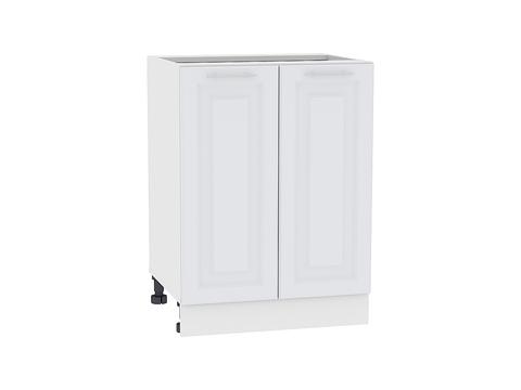 Шкаф нижний с 2-мя дверцами 600 Ницца Royal (Blanco)