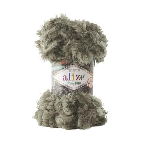 Пряжа Alize Puffy Fur цвет 6117