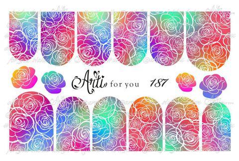 Слайдер наклейки Arti for you №187 купить за 100руб
