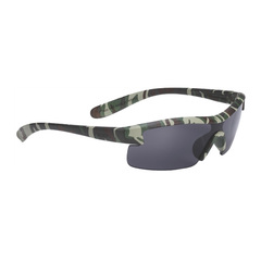 Очки спортивные детские BBB Kids PC smoke lens матово-зеленый камуфляж