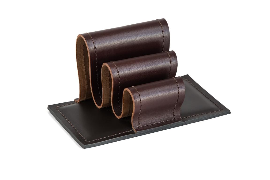 визитница настольная brown/шоколад