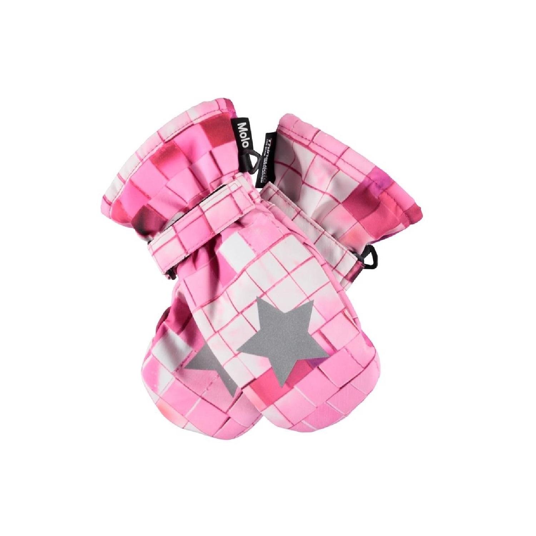 Варежки Molo Mitzy Pink Disco