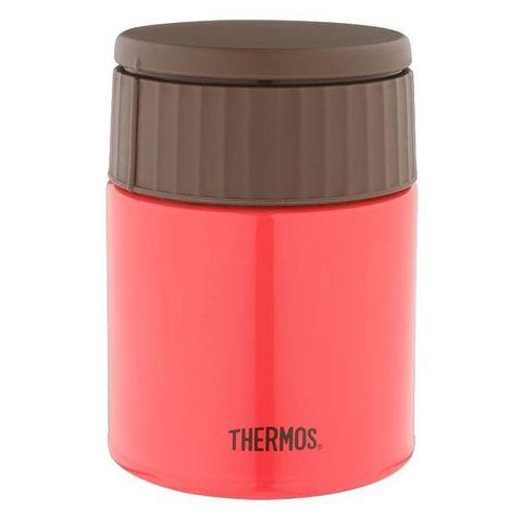 Термос Thermos JBQ-400-PCH (924681) 0.4л. красный/коричневый