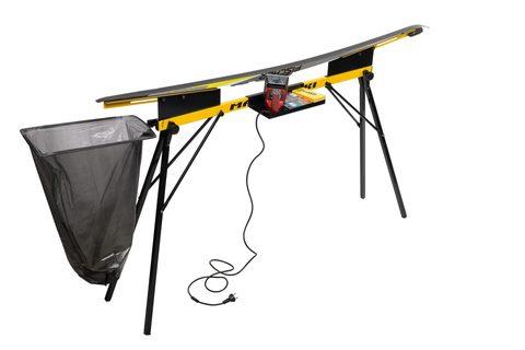 Компактный лыжный станок-профиль MASTER-SKI для подготовки лыж из алюминиевого профиля с полимерным покрытием