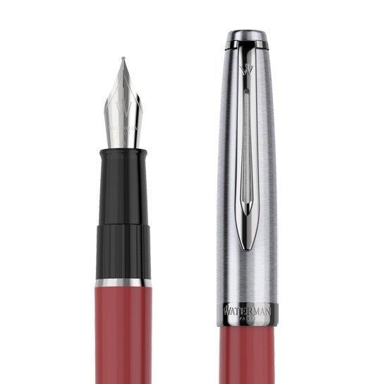 Waterman Embleme - Red CT, ручка перьевая, F