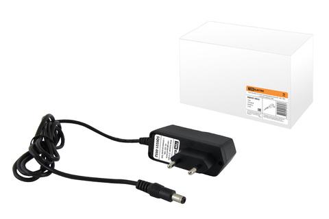 Блок питания 12-12 для светодиодной ленты DC 12В, 12Вт, с сетевым шнуром, TDM