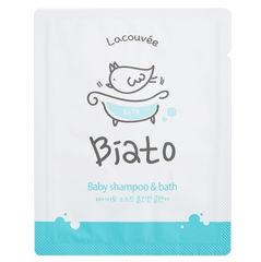 Детский шампунь и пенка для купания 2 в 1 Biato Baby shampoo & bath, 300 мл Lacouvee