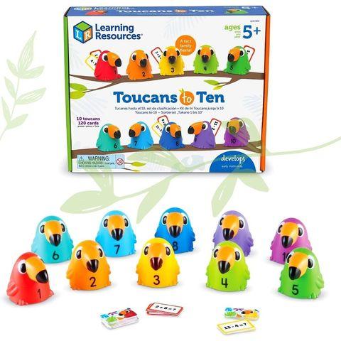 LER5458 Развивающая игрушка Считаем с туканами Learning Resources