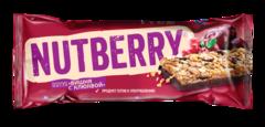 NUTBERRY Баточник мюсли «Вишня с клюквой» 30г
