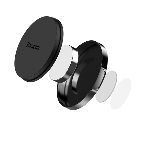 Магнитный держатель Baseus Small ears series Magnetic suction bracket Black