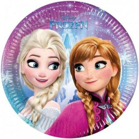 Тарелка Frozen Сев сияние 20см 8шт/Р
