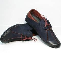 Мужские мокасины туфли мужские кожаные Luciano Bellini 23406-00 LNBN.