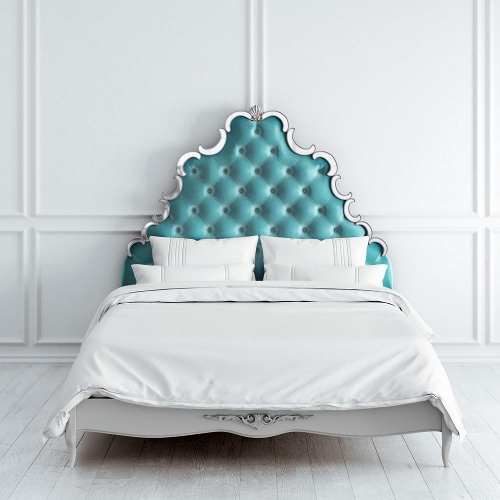 Кровать с мягким изголовьем 160*200