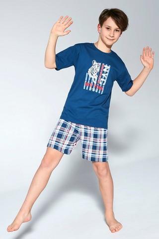 Пижама для мальчиков с шортами CORNETTE 789/790 TIGER