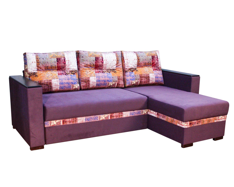 угловой диван-кровать Карелия-Люкс 2д2я без стола