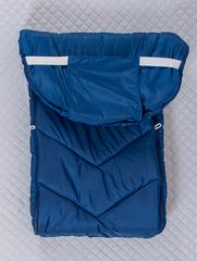 Конверт мешок в санки (темно синий)
