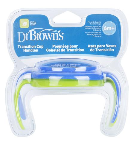 Ручки для чашек - голуб./зелен., набор из 2 шт (стандарт)