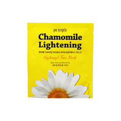 Гидрогелевая маска для лица с Ромашкой, PETITFEE, Chamomile Lightening Hydrogel Face Mask, 32 мл