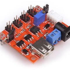 Модуль питания BPS 3.3V/5V/ADJ для макетной платы с регулятором