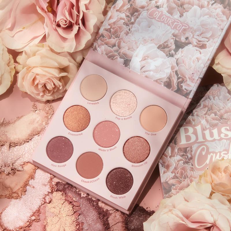 ColourPop Blush Crush palette