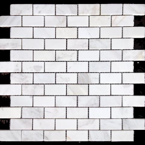 Мозаика Dolomiti bianco MAT 23x48x7 298х298