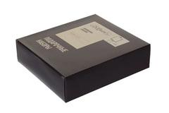 Итальянский набор с флягой S.Quire «Black and silver», 240 мл, фото 2