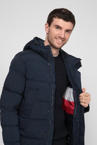 Мужская темно-синяя куртка Tommy Hilfiger