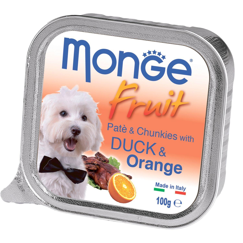 Monge Паштет для собак Monge Dog Fruit утка с апельсином 70013239_1.jpeg