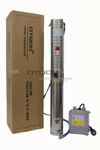 Скважинный насос Otgon DP 4-2,7-80 S