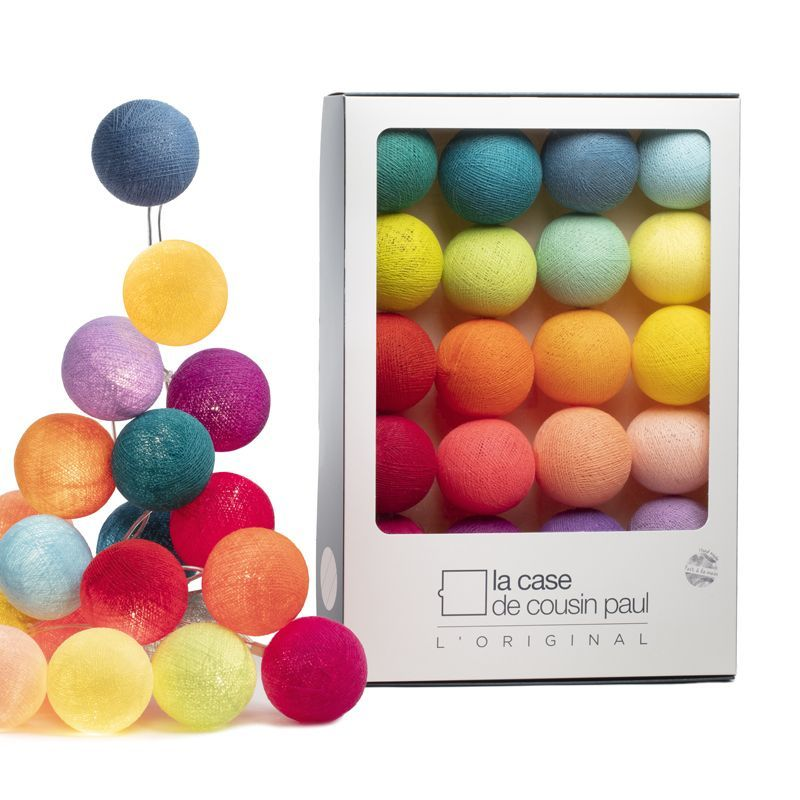 Гирлянда с подсветкой Tao Tong, 20 шаров