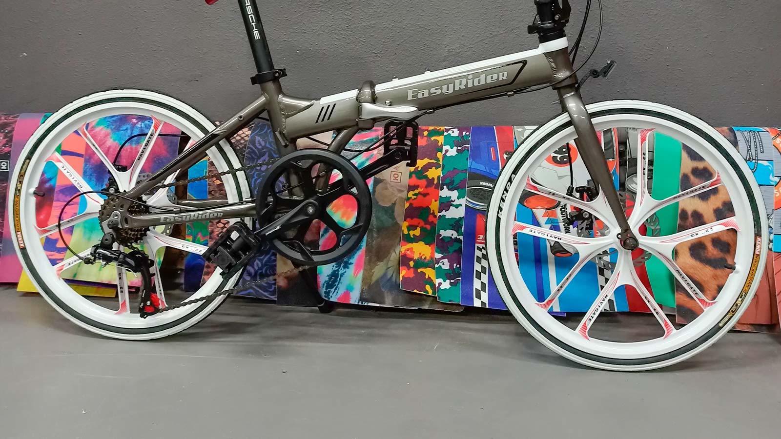 рама педаль компактный складной велосипед