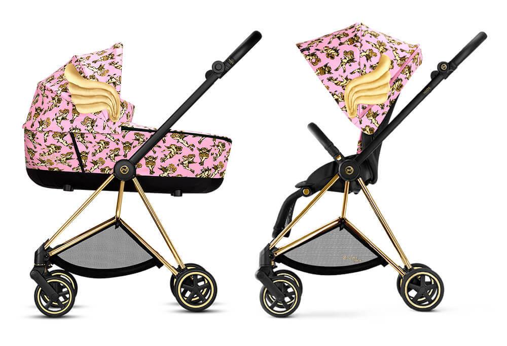 Коляски Cybex Priam с крыльями Детская коляска Cybex Mios 2 в 1 FE JS Cherubs Pink mios_2-jeremy-scott-cherubs-pink__1_.jpg