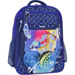 Рюкзак школьный Bagland Отличник 20 л. 225 синий 614 (0058070)