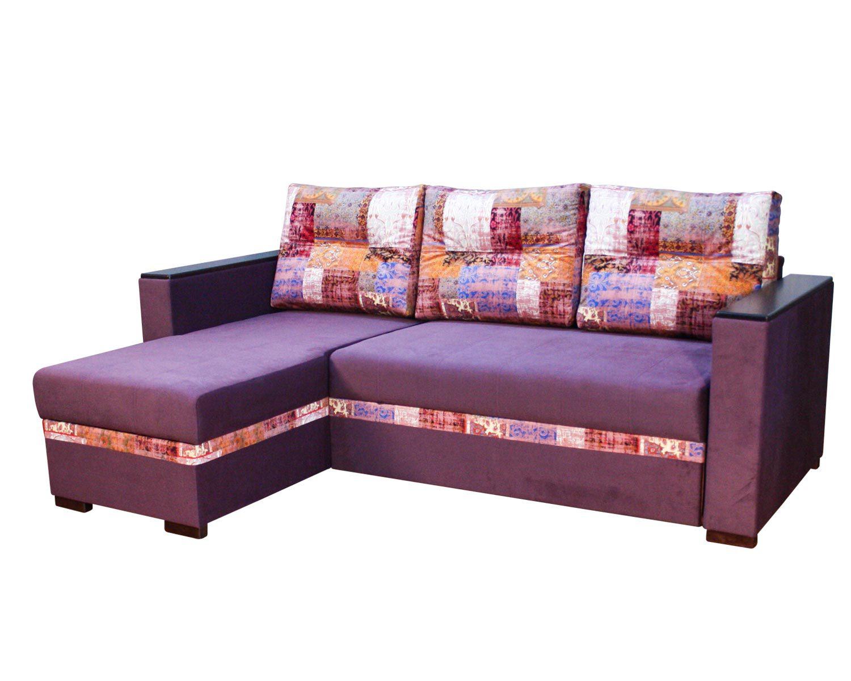 угловой диван-кровать Карелия-Люкс 2я2д без стола