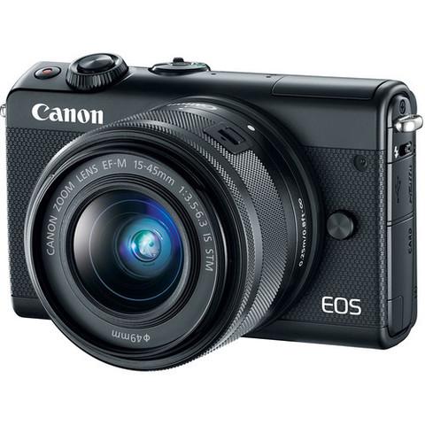 Цифровой беззеркальный фотоаппарат Canon EOS M100 Kit EF-M 15-45mm f/3.5-6.3 IS STM