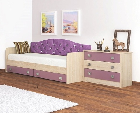 Кровать-Колибри + мягкая спинка