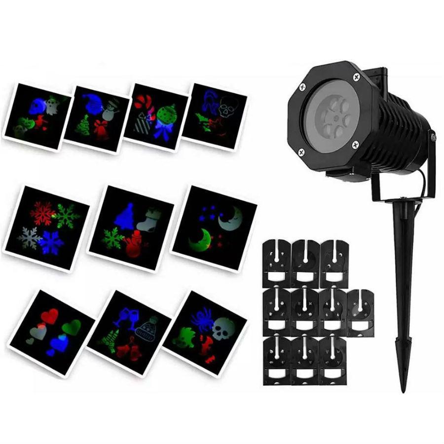 Хит продаж Новогодний лазерный проектор Led Strahler Schneeflocke proekcii-led-pejzazh-proekcija-spotlight-gorjachaja-sal-vysokokachestvennye-neonovye-ukrashenija.jpg